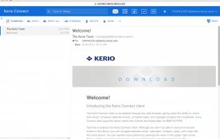 Webmail En ligne avec accès à toutes les fonctionnalités